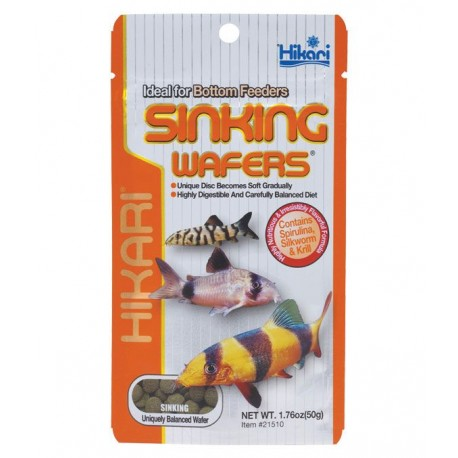 Hikari Sinking Wafers 20g - Corydoras & Bottom Feeders