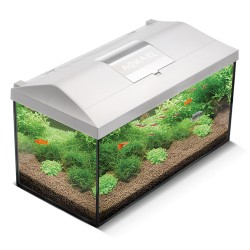Aquael Leddy 60 LED Aquarium Set White