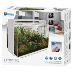SuperFish Home 80 Aquarium White