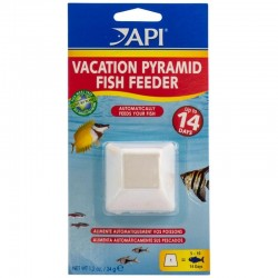 API 7-14 Day Pyramid Fish Feeder