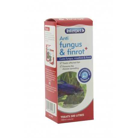 Interpet Anti Fungus & Finrot 100ml