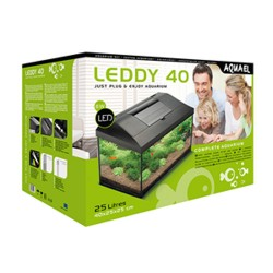 Aquael Leddy 40 LED Aquarium Set Tropical Black