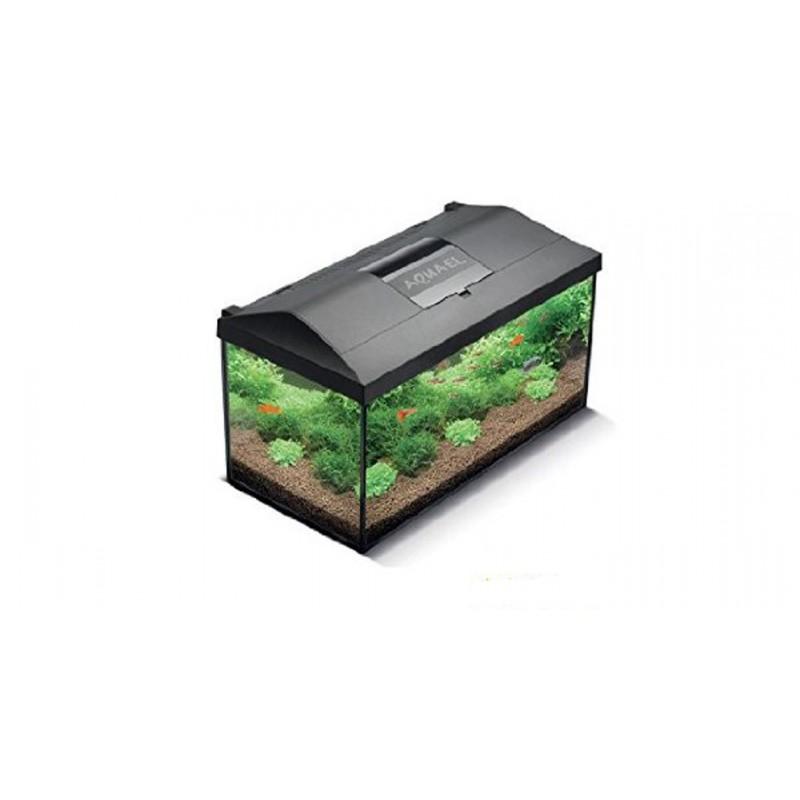 Aquael leddy 40 cold water black led complete aquarium set for Aquarium set