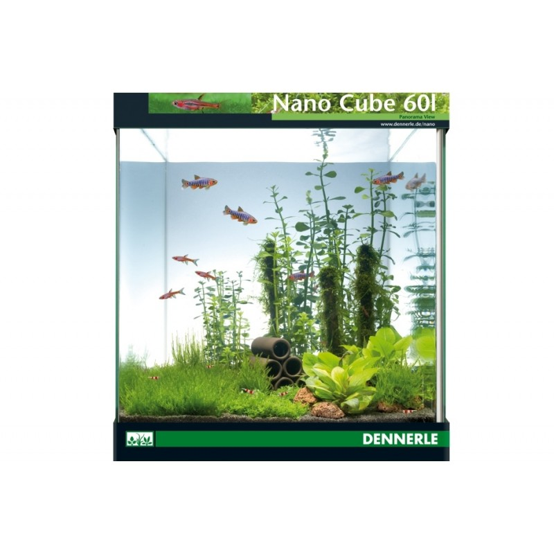 Dennerle nano cube 60l aquarium shrimp tank pro shrimp uk for Decoration aquarium 60 litres