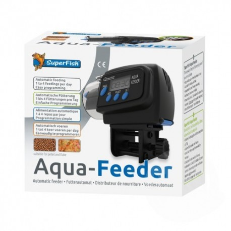 Superfish Aqua Feeder Automatic Black