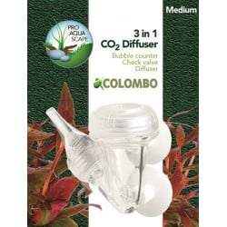 Colombo CO2 Diffuser Medium 3in1