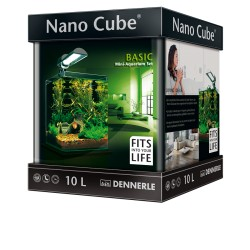 Dennerle Nano Cube 10L Basic Complete Aquarium Set