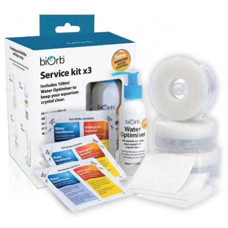 biOrb Service Kit Triple Pack + Water Optimiser