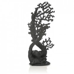 biOrb Fan Coral Ornament Black Large 40cm