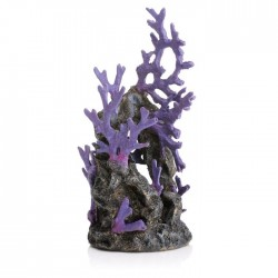 biOrb Purple Reef Ornament 21.5cm