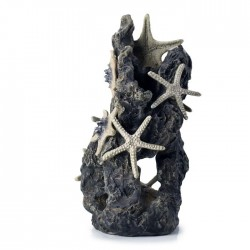 biOrb Sea Stars On Rock Ornament 21cm