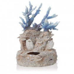biOrb Blue Coral Reef Ornament 21cm