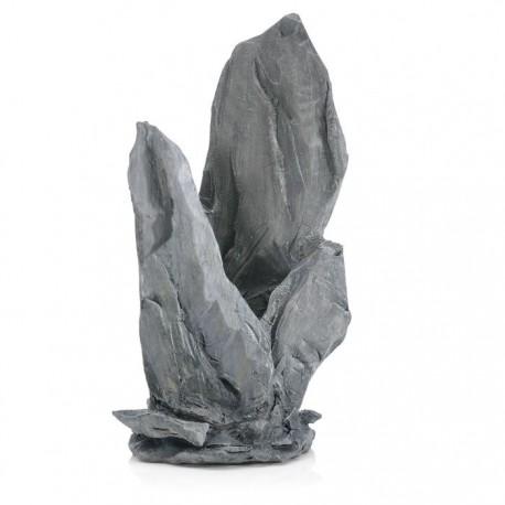 biOrb Slate Stack Ornament Grey Medium 21cm
