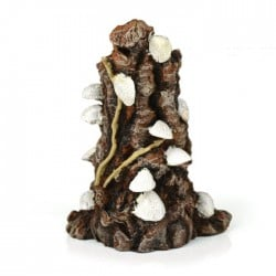 biOrb White Shells on Stump Ornament Small 12.5cm