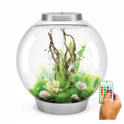 biOrb CLASSIC 105 Silver Aquarium MCR LED