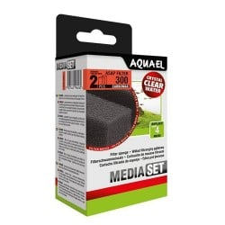 Aquael ASAP 300 Sponge Set Carbomax (2 pcs)
