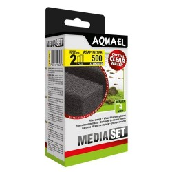Aquael ASAP 500 Sponge Set Standard (2 pcs)
