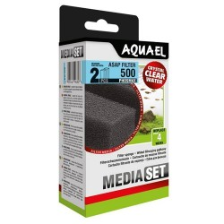 Aquael ASAP 500 Sponge Set Phosmax (2 pcs)