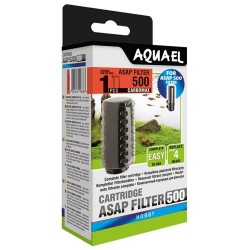 Aquael ASAP 500 Sponge Set Carbomax (2 pcs)