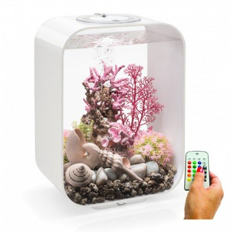 biOrb LIFE 15 White Aquarium MCR LED