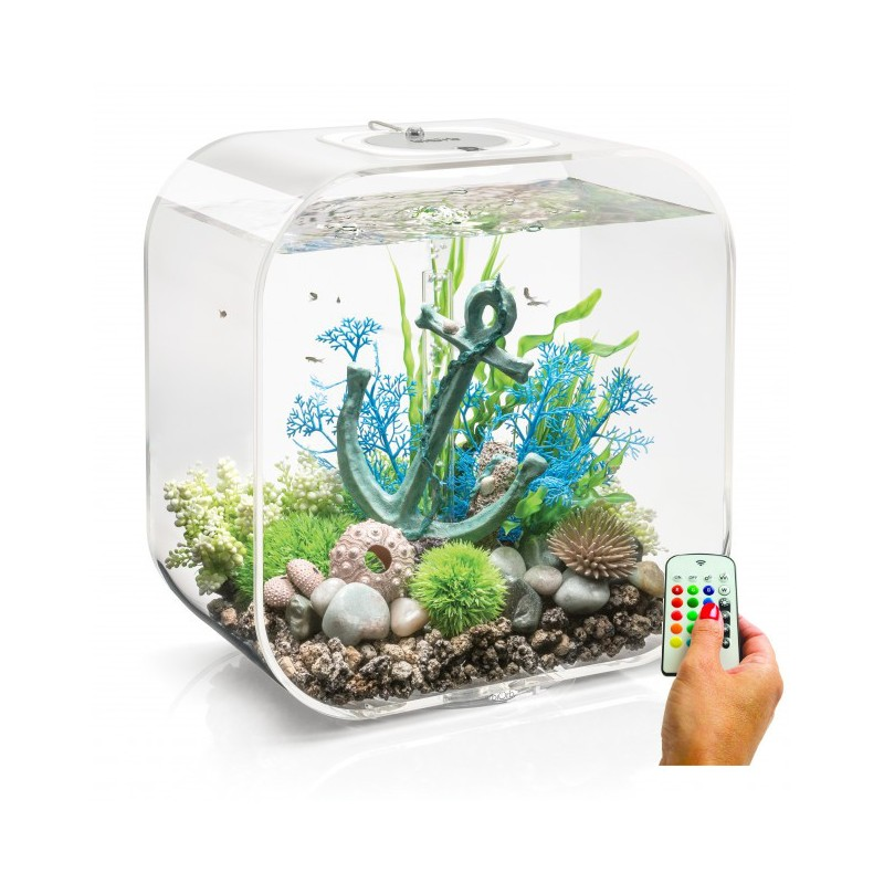 biorb life 30 30l aquarium clear mcr led light. Black Bedroom Furniture Sets. Home Design Ideas