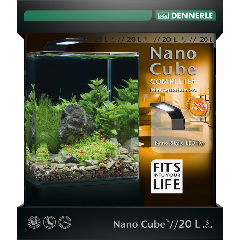 dennerle nano cube 20l complete plus style led
