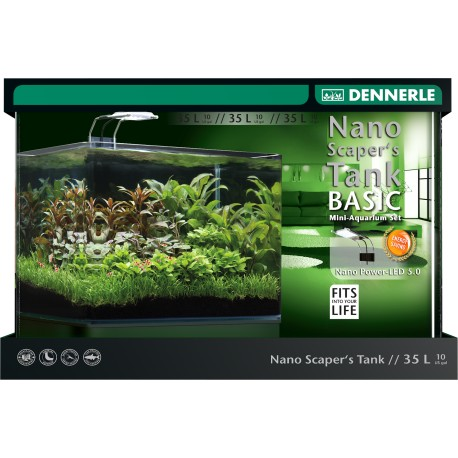 Dennerle Scaper's Tank 35L Complete Set