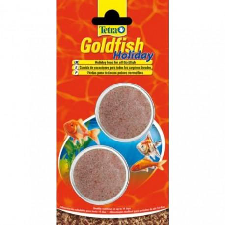 Tetra Goldfish Holiday 2x 12g