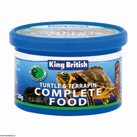 King British Turtle & Terrapin Food 20g