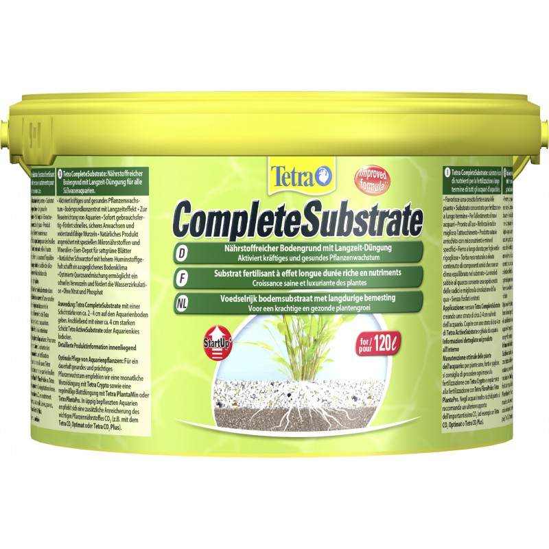 tetra complete substrate 5kg plant nutrient substrate. Black Bedroom Furniture Sets. Home Design Ideas