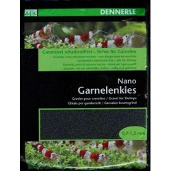 Dennerle Shrimp Gravel, Sulawesi Black 2 KG