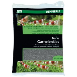 Dennerle Shrimp Gravel, Arkansas Grey 2 kg