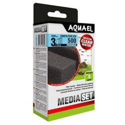 Aquael Unifilter/UV 500 Phosmax Sponge Set (3 pcs)