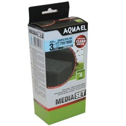 Aquael Unifilter/UV 750/1000 Phosmax Sponge Set (3 pcs)