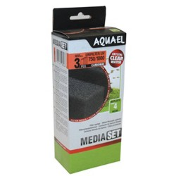 Aquael Unifilter/UV 750/1000 Carbomax Sponge Set (3 pcs)