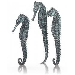 biOrb Seahorse Decoration Metallic Black 3-Pack