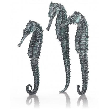 biOrb Seahorse Decoration Metallic Black 3-Pack