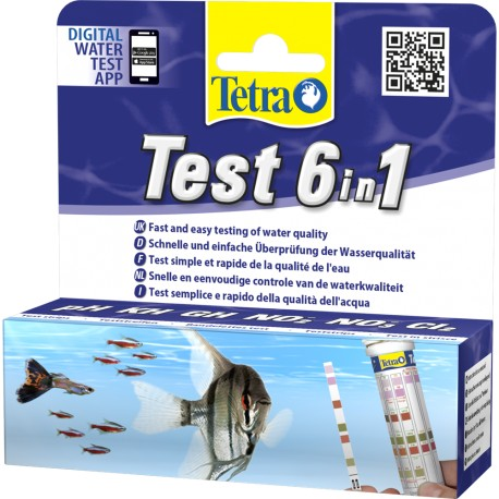 Tetra Test 6in1 Water Test Strips