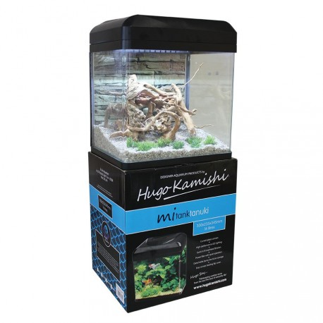 Hugo Kamishi Tanuki Aquarium Set 16L Black
