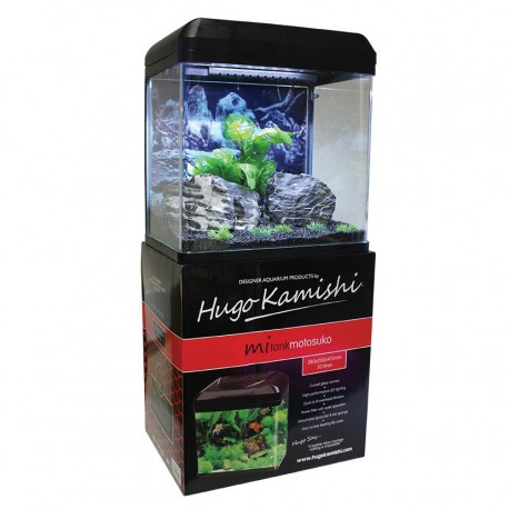 Hugo Kamishi Motosuko Aquarium Set 30L Black