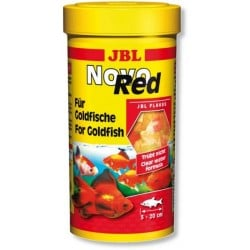 JBL Novo Red 250ml Goldfish Flakes