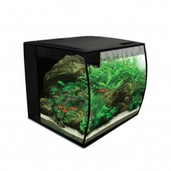 Fluval Flex 34L Black Aquarium Kit