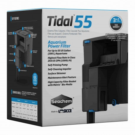 Seachem Tidal 55 Power Filter (HOB)