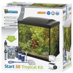 Superfish Start 50 Tropical Tank Set Black