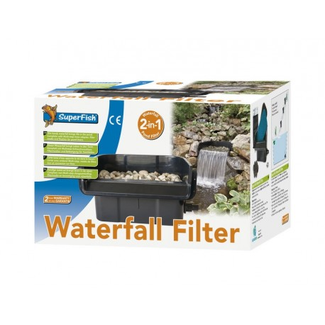 Superfish 2-in-1 Pond Waterfall Filter