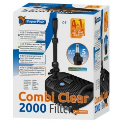 Superfish Combi Clear 2000 4-in-1 Pond Filter UVC