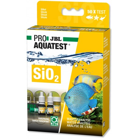 JBL SiO2 Silicate Test Set Kit Fresh Water & Marine