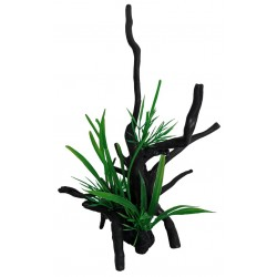 Superfish Artificial Spiderwood with Plant Small