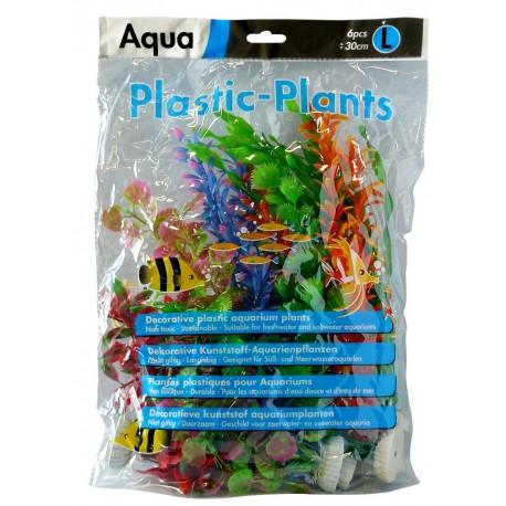 Superfish Aqua Plastic Plants Large (6 pcs) 30cm