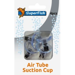 Superfish Air Tube Suction Cups (4 pcs)